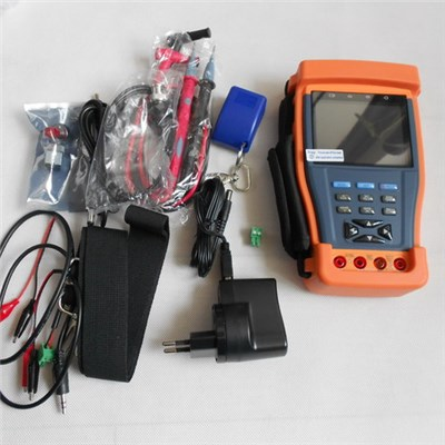 3.5TFT-LCD CCTV Video Tester Monitor With 12VDC Output, Digital Multimeter, Optical Power Meter (CT895)