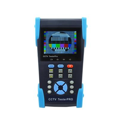 3.5 LCD CCTV Tester With IP Address Search And 12VDC Output , IP Camera Tester (CT2601)