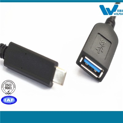 USB3.0 AF To Type C USB Cable