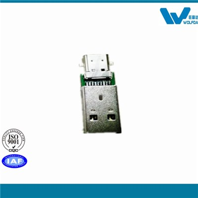 Adapter USB3.0 A/M To USB3.1 A/F (P/N:WFD-CM-AM)