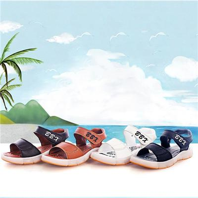 Holesale Summer 2016 Girls&boys LED Sandal Cool Light Up Sandal In Fashion Current