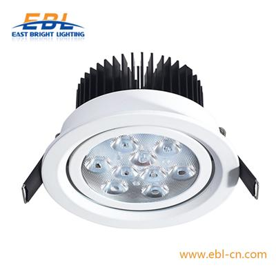 9W Swived High Power LED Down Light With Cree Ra>82  Powerful LED 25 Degree Beam Angle