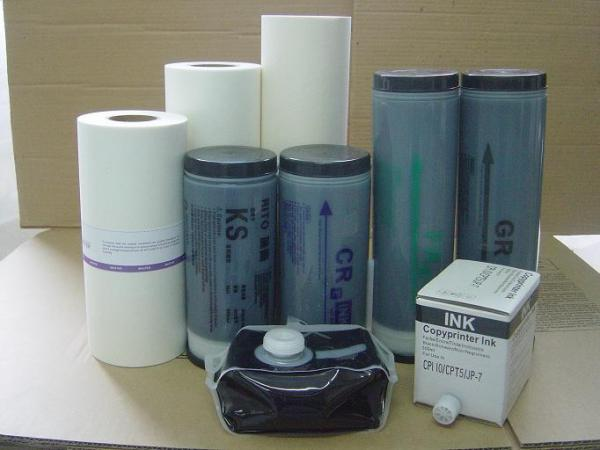 GR-HD duplicator ink and master