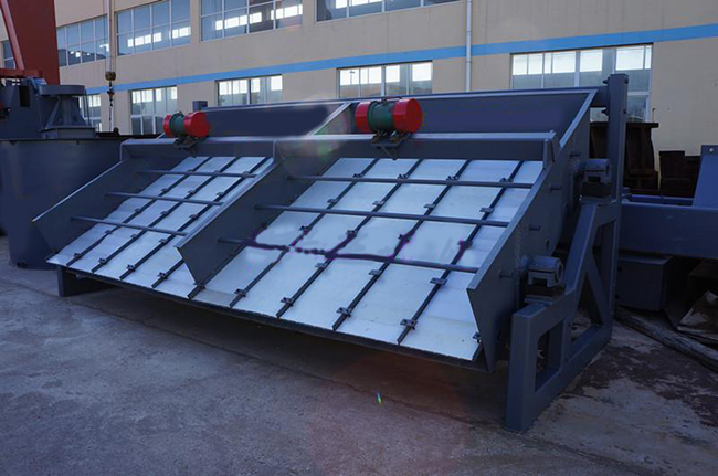 ZD vibrating screen Single shaft vibrating screen for mine