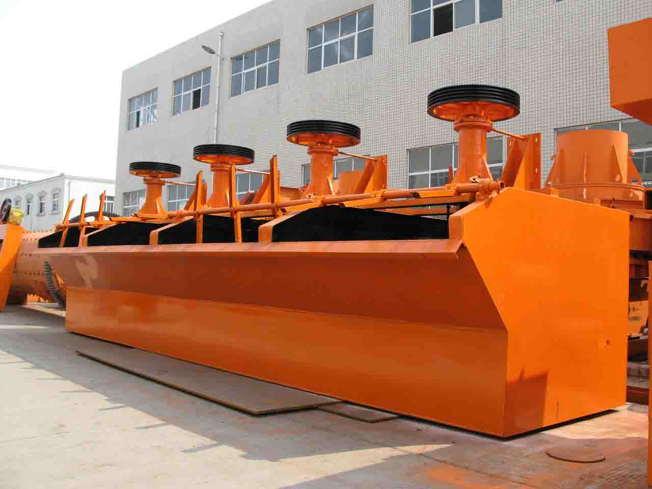SF series Copper concentrate flotation machine with 0.18-7 produtcion capacity
