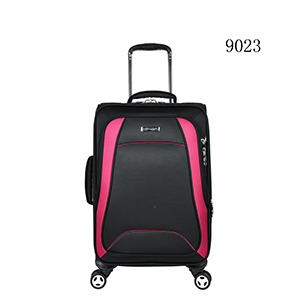Carry-on suitcase, soft material polyester luggage travel set