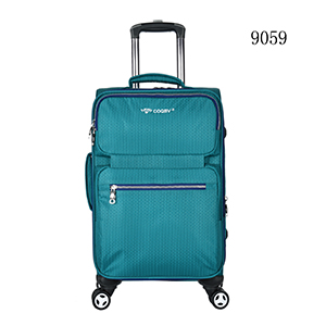 eva polyester case trolley luggage classic soft luggage