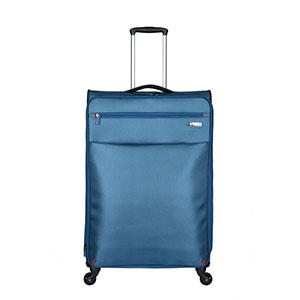 Hot Style Suitcase 4 wheels polyester material trolley luggage