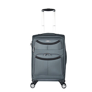 600D polyester cheap and goog quality  trolley luggage