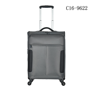 travel bag luggage/upright good quality polyester trolley case set
