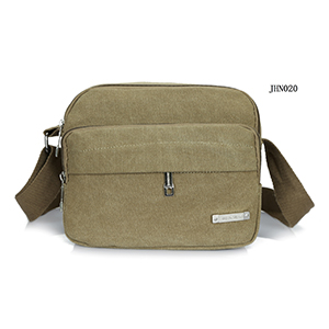 simple generous canvas chest bag single  shoulder bag for men