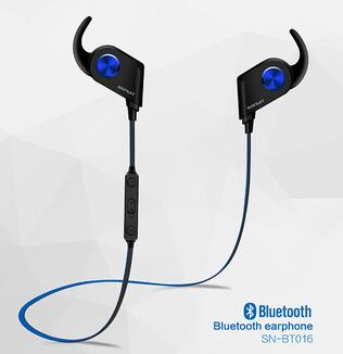 new style Wireless Bluetooth Earphone magnetic control bluetooth Earphone