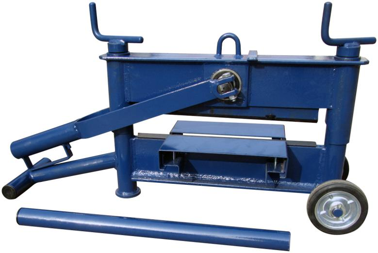 49kg 2 spindle brick cutter for 430mm length 10-120mm height paving stones ZQ430L