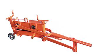 75kg 2 spindle brick cutter for 430mm length 10-120mm height paving stones ZQ430W-A