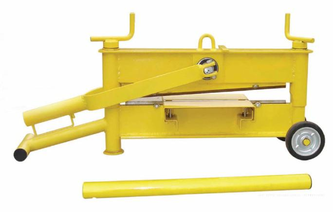 58kg 2 spindles brick cutter for 530mm length 10-120mm height paving stones ZQ530L
