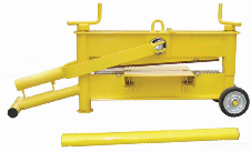 76kg 2 spindles brick cutter for 650mm length 10-120mm height paving stones ZQ650L