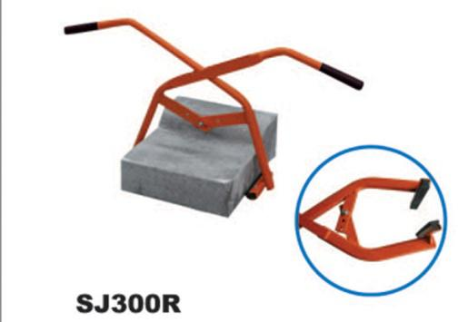 150kg loading capacity block clamp with rubber SJ300R