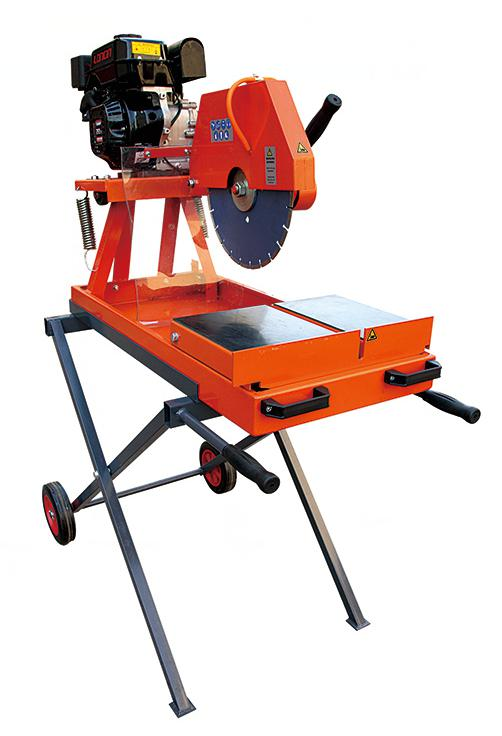 ZJ350 electric brick saw for pavers and cutting the bricks and tiles