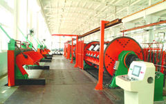 Rigid Frame Stranding Machine  used for stranding bare aluminum,bare copper wire, sector conductor