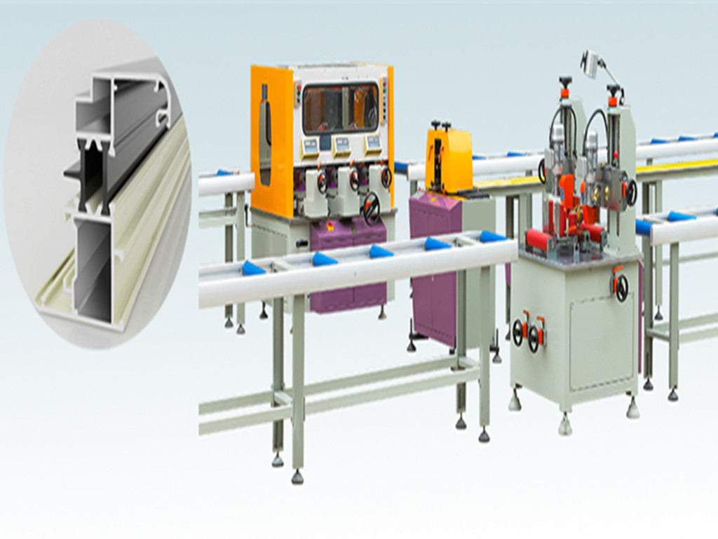 thermal break assembly machine (three steps)