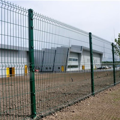 SHS Post Welded Mesh Fence