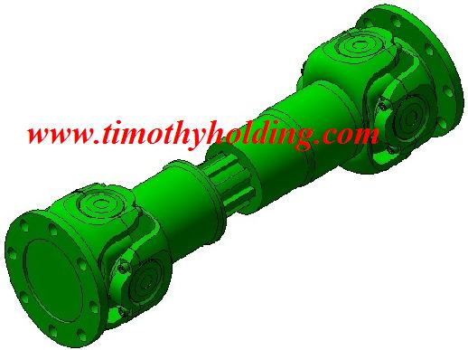 Cardan joint shaft
