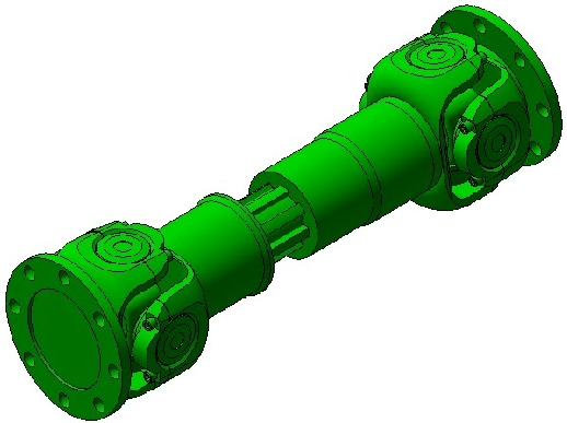 Double drive shaft