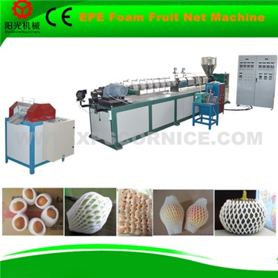 plastic foamed fruit vegetable net mesh extruder