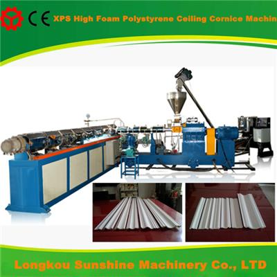 Decorative ceiling cornice making machine