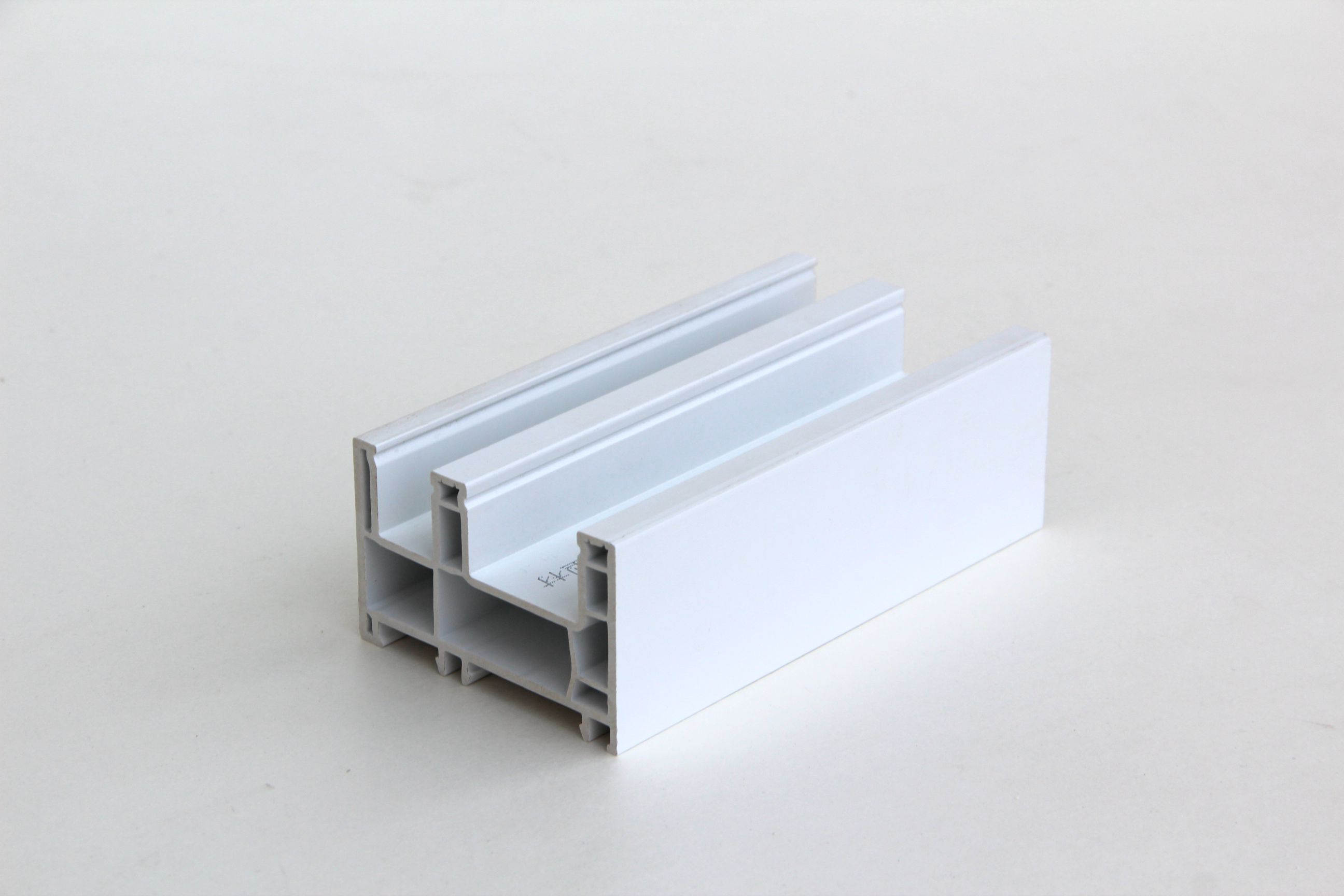 80mm White Pvc Profile For Plastic Window And Door Plastic Building