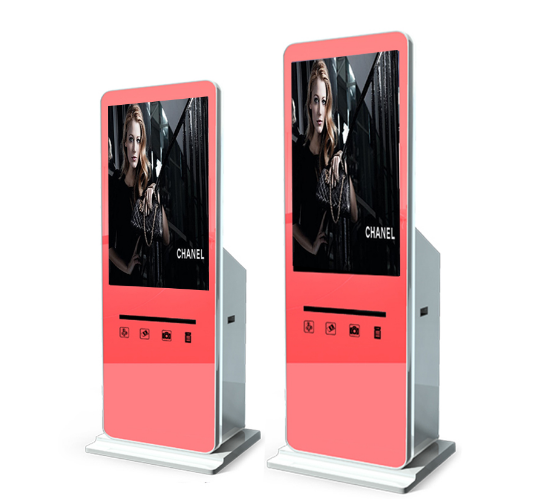 High Quality Digital 42 Inch Portable Fashion Photo Booth Kiosk