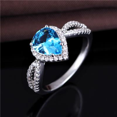 Fashion Ring Design For Women New Style 925 Silver Wedding Ring