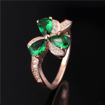 2016 Fine Jewelry Brass Knuckles Ring Grass Style For Women