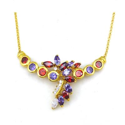 New Style Vintage Main Meterial Brass Necklace For Women