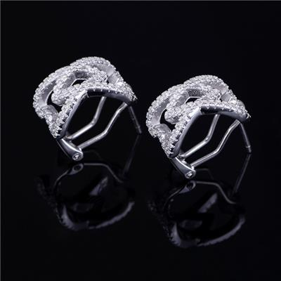 Cheap Fashion Jewelry Multi Style Design For Women Sterling Silver Stud Earring
