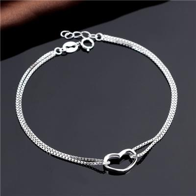2016 New Stype Design For Women Wear-resisting Artistic Sterling Silver Bracelet