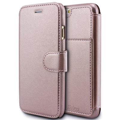 Rose Gold Leather Case For IPhone 6