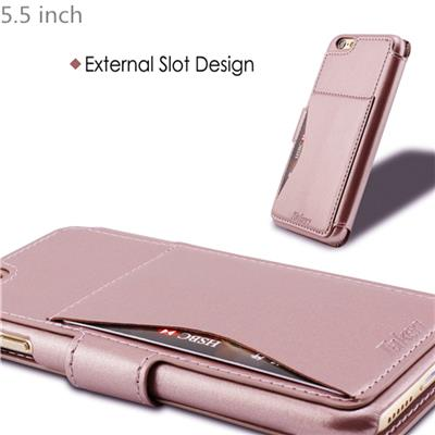 Rose Gold Leather Case For IPhone 6 Plus