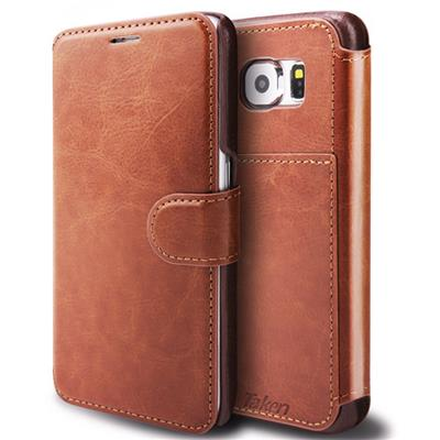 Brown Leather Case For Samsung Galaxy S6