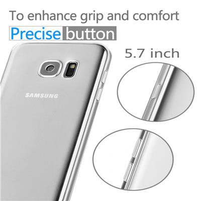 TPU Transparent Case For Samsung Galaxy S6 Edge Plus