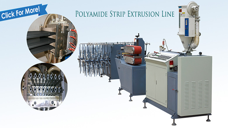 most welcome PA66 nylon strip extrusion line