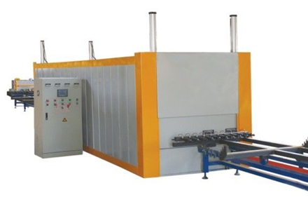 aluminum wood grain transferring machine