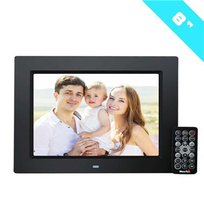 Singing Photo Frame With 1024*600 Resolution Digital Photo Frame 8inch With SD Card Advertising Player