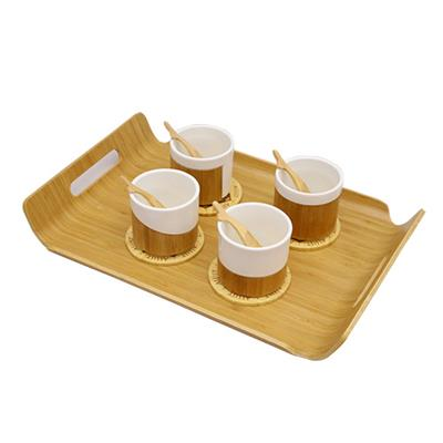 Bamboo Food Serving Trays