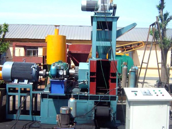Charcoal Briquette Machine/Wood Charcoal Briquette Making Machine/New Design Charcoal Briquetting Machine