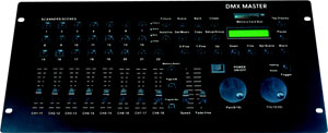 280 CHANNEL DMX CONTROLLER