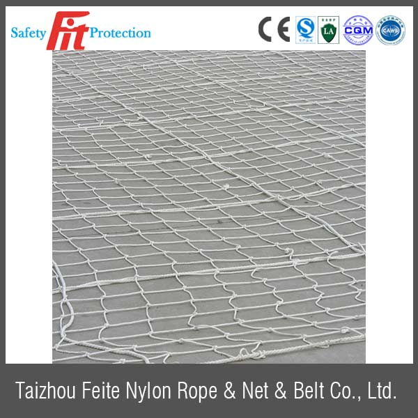 safety netting  used in construction application