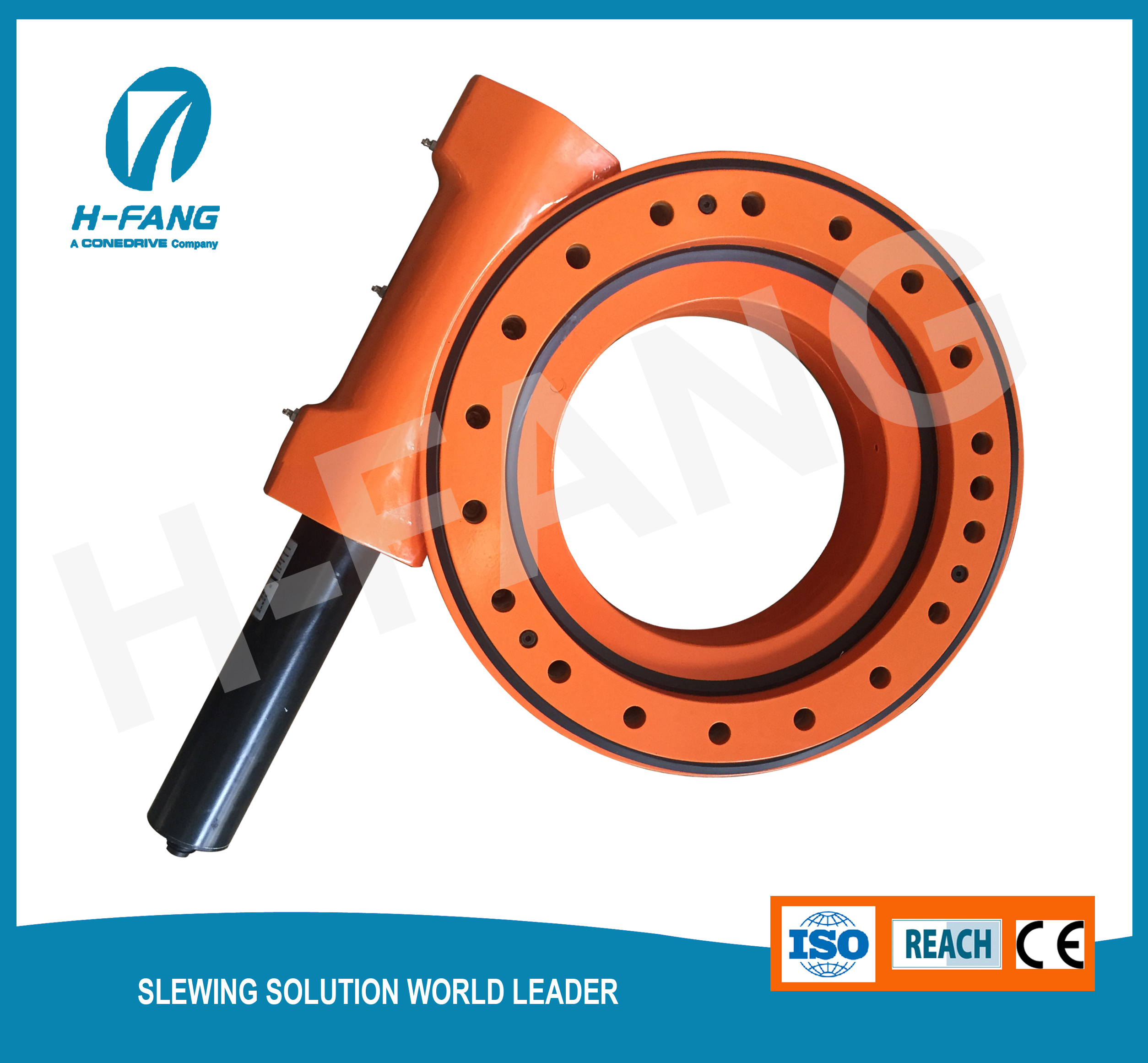 14'' Precise Slewing Drive for CPV solar Tracker