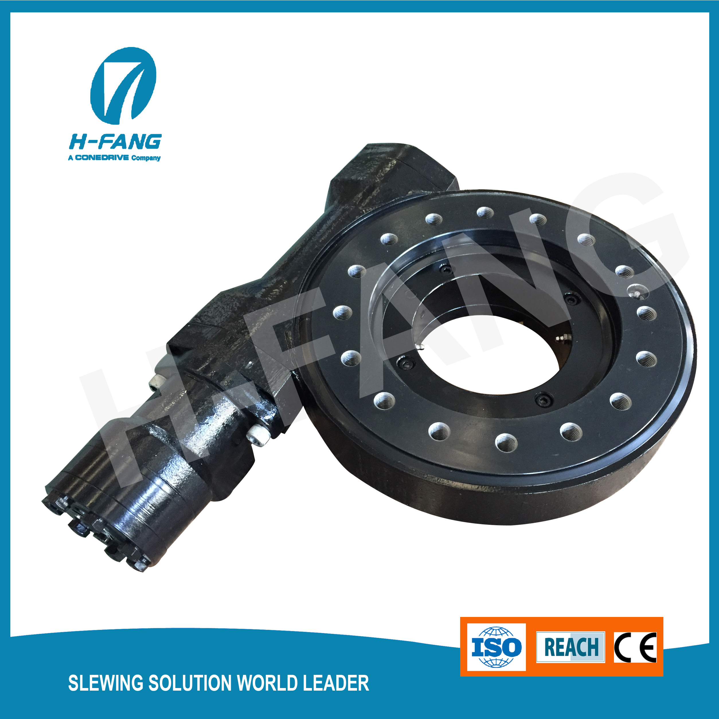 9 Slewing Drive for Marine Machinery