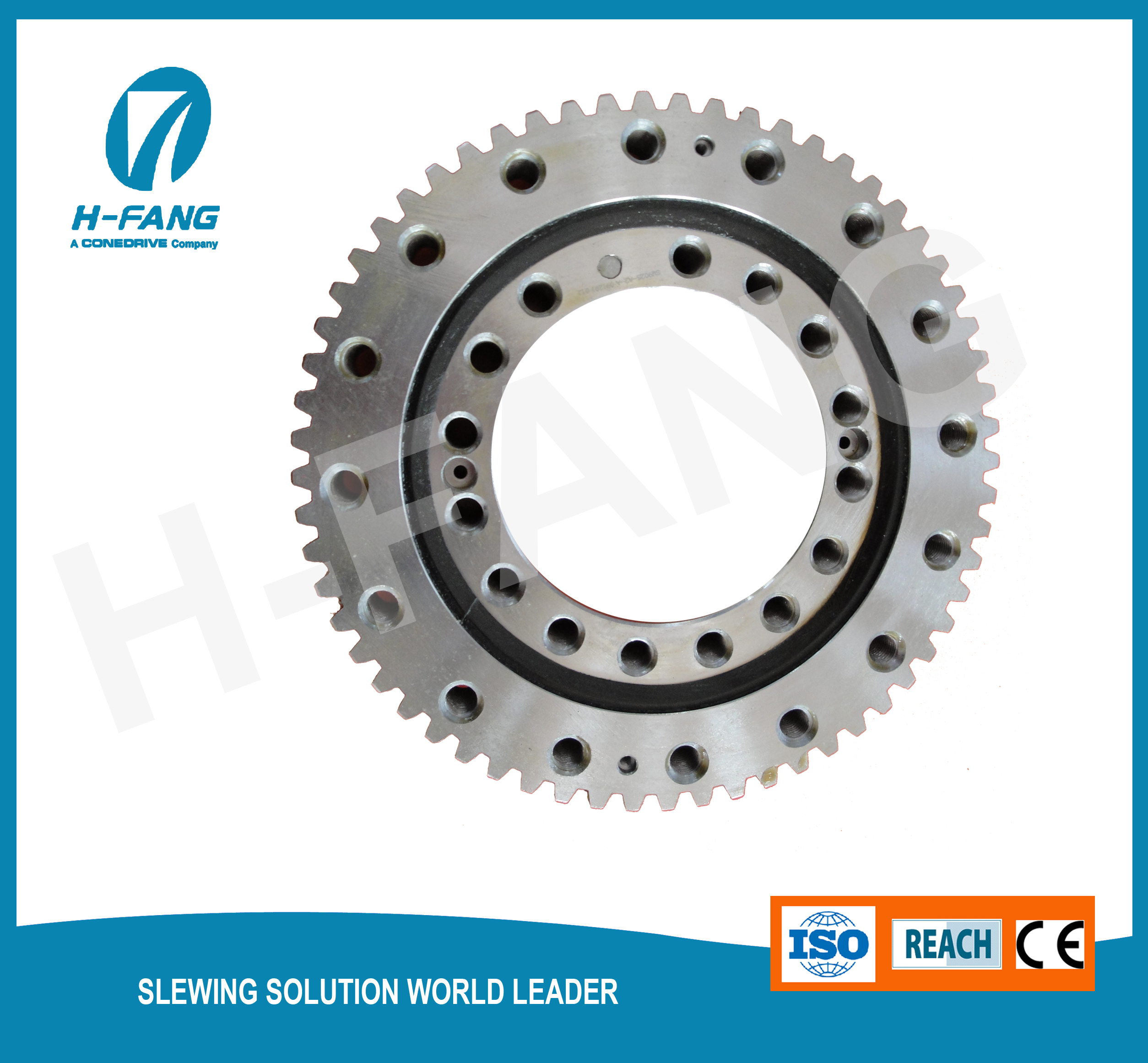 Gear wheel for truck crane